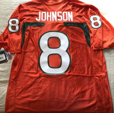 Duke Johnson Miami Hurricanes 2012 authentic Nike double stitched orange XL jersey BRAND NEW WITH TAGS