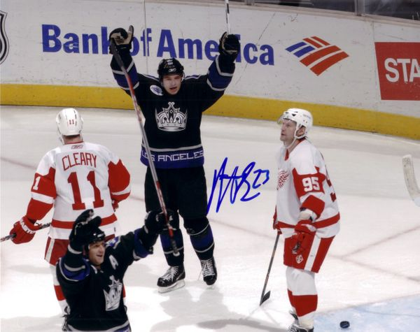Dustin Brown autographed Los Angeles Kings 8x10 photo