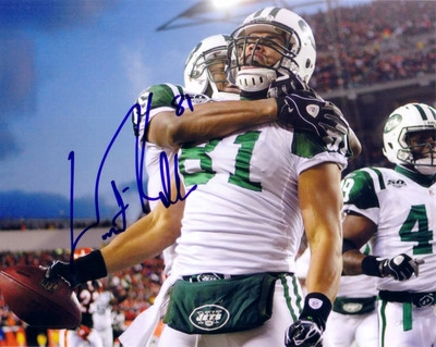 Dustin Keller autographed New York Jets 8x10 photo