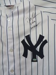 Dwight (Doc) Gooden autographed New York Yankees jersey inscribed 5-14-96 No Hitter (GTSM)