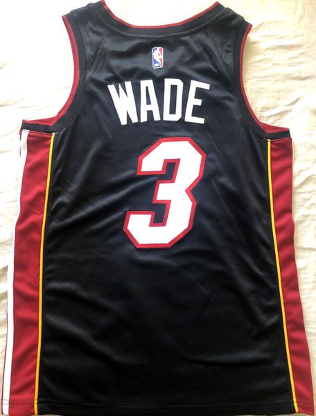 Dwyane Wade Miami Heat authentic Nike black stitched 2018-19 FINAL SEASON jersey NEW WITH TAGS