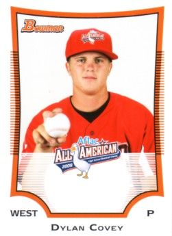 Dylan Covey 2009 AFLAC Bowman Rookie Card