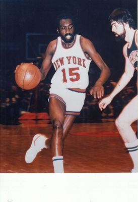 Earl Monroe New York Knicks 8x10 photo