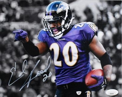 Ed Reed autographed Baltimore Ravens 8x10 photo (JSA)
