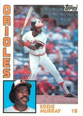 Eddie Murray Baltimore Orioles 1984 Topps Super 5x7 inch jumbo card