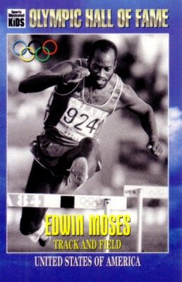 Edwin Moses Sports Illustrated for Kids 1996 Olympic Hall of Fame card