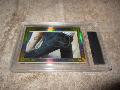 Elijah Wood 2015 Leaf Masterpiece Cut Signature certified autograph card 1/1 JSA