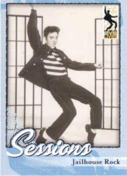 Elvis Presley 2006 Press Pass promo card