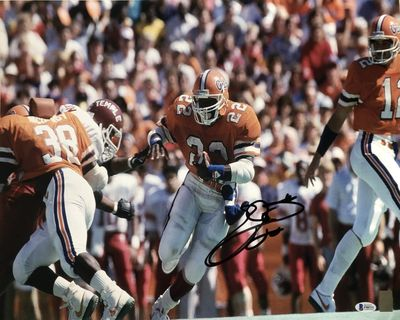 Emmitt Smith autographed Florida Gators 16x20 poster size photo (BAS authenticated)