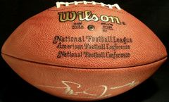 Emmitt Smith autographed NFL game model football