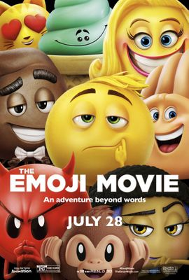 Emoji Movie 2017 mini 11x17 poster