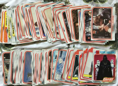 Empire Strikes Back 1980 Topps trading cards partial set (94/132)