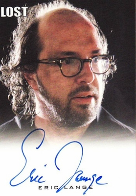 Eric Lange LOST 2010 Rittenhouse certified autograph card