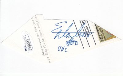 Eric Montross autograph or cut signature (JSA)