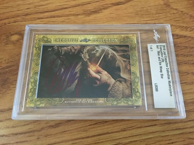 Evangeline Lilly 2018 Leaf Masterpiece Cut Signature certified autograph card 1/1 JSA Ant-Man Wasp