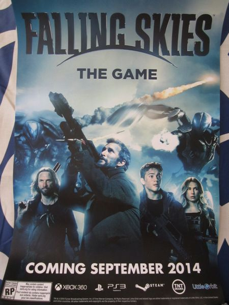 Falling Skies The Game 2014 Comic-Con 12x18 poster
