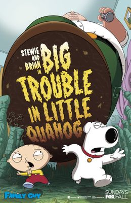 Family Guy Big Trouble in Little Quahog 2018 Comic-Con mini 11x17 promo poster