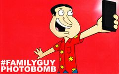 Family Guy Photobomb 2014 Comic-Con double sided 5x8 promo card