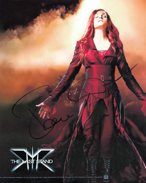 Famke Janssen autographed X-Men The Last Stand 8x10 photo
