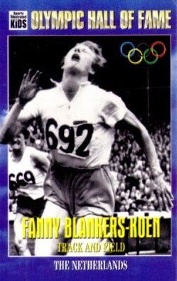 Fanny Blankers-Koen Olympic Hall of Fame 1995 Sports Illustrated for Kids card