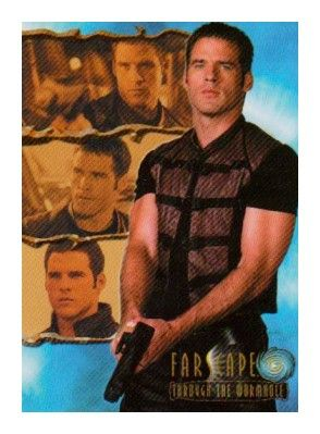 Farscape Through the Wormhole 2004 Rittenhouse promo card P1