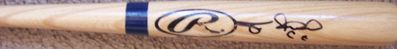 Felix Pie autographed Rawlings Big Stick mini baseball bat