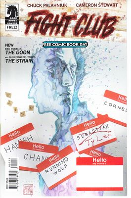 Fight Club 2015 Dark Horse Free Comic Book (also The Goon and The Strain)