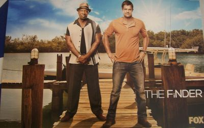 Finder 2011 SDCC Fox promo poster (Michael Clarke Duncan)