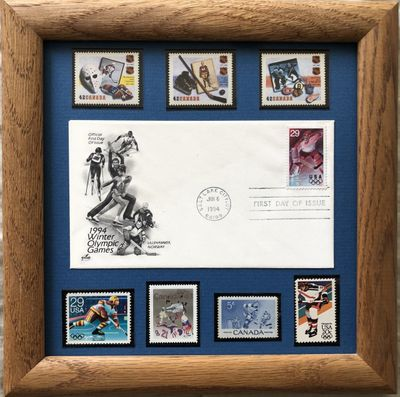 First Day Covers Commemorative Postal Cachets and Stamps