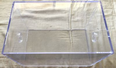 Football Ultra Pro plastic display case (gently used)