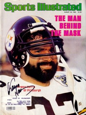 Franco Harris autographed Pittsburgh Steelers 1982 Sports Illustrated