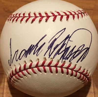 Frank Robinson autographed Washington Nationals 2005 Inaugural Season MLB baseball