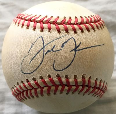 Frank Thomas autographed American League baseball