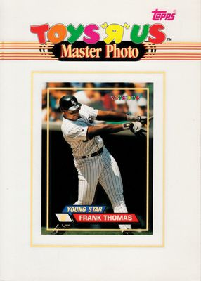 Frank Thomas Chicago White Sox 1993 Stadium Club Toys R Us Master Photo 5x7 card