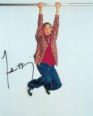 Frankie Muniz autographed 8x10 photo