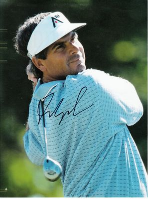 Fred Couples autographed full page golf magazine photo