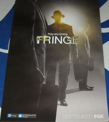Fringe 2012 Comic-Con mini 11x17 Fox promo poster