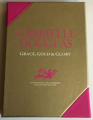 Gabrielle Douglas autographed Grace, Gold & Glory collector's edition book