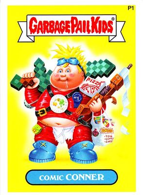 Garbage Pail Kids Comic Conner 2014 Comic-Con Topps promo card P1