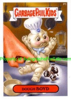 Garbage Pail Kids Series 7 2007 Topps promo sticker card P1 (Dough Boyd)