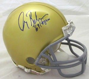 Gary Beban autographed UCLA Bruins throwback mini helmet inscribed '67 Heisman