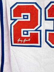 Gary Grant autographed Los Angeles Clippers stitched jersey