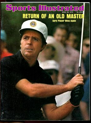 Gary Player 1974 Masters Sports Illustrated magazine