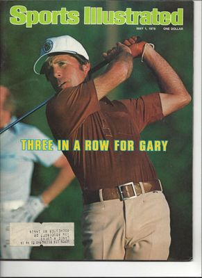 Gary Player 1978 Sports Illustrated magazine