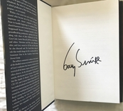 Gary Sinise autographed Grateful American hardcover first edition book