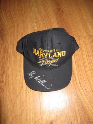 Gary Williams autographed Maryland Terrapins cap or hat