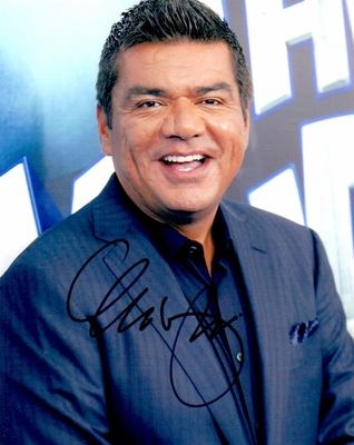 George Lopez autographed 8x10 photo