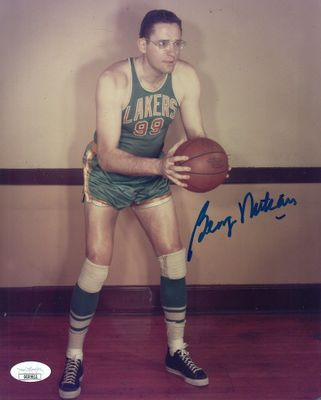 George Mikan autographed Minneapolis Lakers 8x10 photo (JSA)