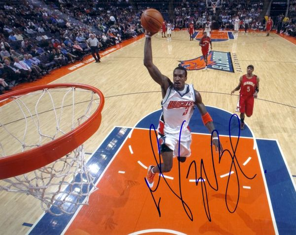Gerald Wallace autographed Charlotte Bobcats 8x10 photo