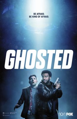 Ghosted 2017 Comic-Con mini Fox promo poster (Craig Robinson Adam Scott)